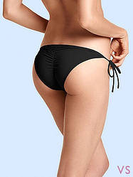 Victoria's Secret Плавки на Завязках Виктория Сикрет XS, Черный
