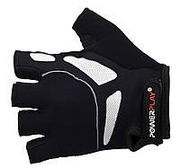 Велосипедные перчатки Power Play. Черный