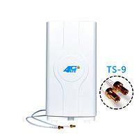 Антенна 4G LTE MIMO LF-ANT4G01 (TS9) 700-2600 мГц 2*8,8 dBi, фото 1
