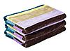 Полотенце пляжное велюровое (70х150 см) хлопок 100% в подарочной упаковке