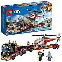 """КОНСТРУКТОР CITIES """"ПЕРЕВОЗКА ТЯЖЕЛЫХ ГРУЗОВ"""" (АНАЛОГ LEGO CITY 60183), 322 ДЕТАЛЕЙ"""