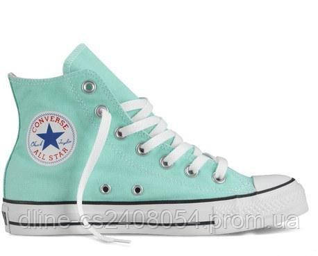 Кеды Converse All Star Hi Бирюзовые