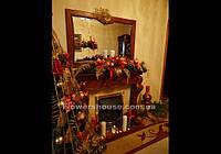 Новогоднее, рождественское оформление квартир, домов, офисов, витрин. Новогодние елки.