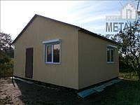 Дачные дома под ключ, модульный каркасный дом