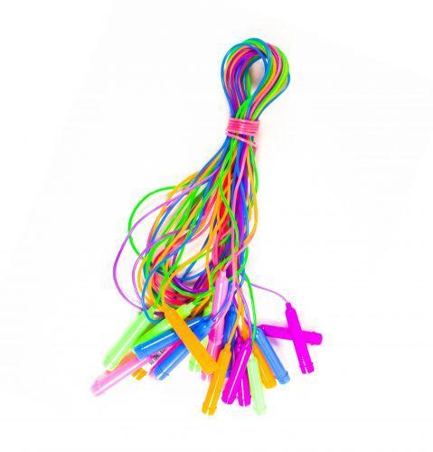 Скакалка цветная (10 штук)  sco