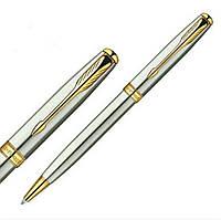 Шариковая ручка Паркер Sonnet 4 Stainless Steel GT