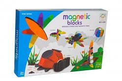 """Магнитный конструктор """"Magnetic blocks"""" из гибких полосок  scs"""
