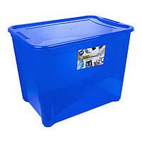 Контейнер Easy Box универсальный, прямоугольный, синий, 70 л., фото 1