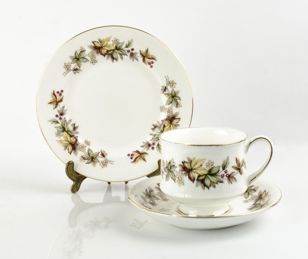 Винтажная чашка блюдце тарелка, фарфор, Англия, Royal Standert