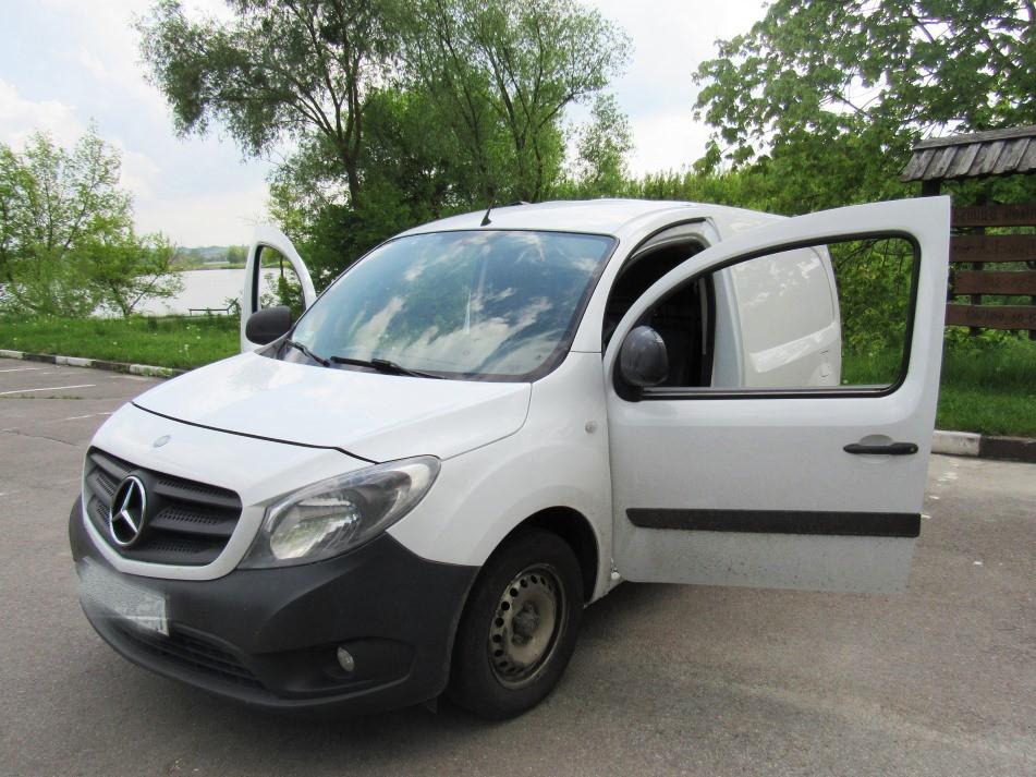 Дверь передняя левая для Mercedes Citan Мерседес Ситан 2012-2019 г. в.