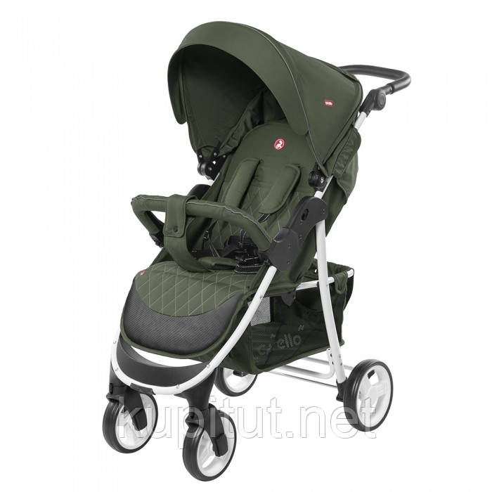 Коляска прогулочная CARRELLO Quattro CRL-8502/1 Зеленая