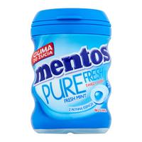 """Жевательная резинка """"Mentos Fresh Mint"""" без сахара, 30 шт"""