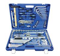 Набор инструментов 142 предмета, 1/4-1/2 дюйма, 6 граней, E-профиль, King Roy 31160-142-L