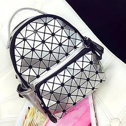 Стильный женский рюкзак с боковыми карманами для прогулок по городу Бао - Бао, Bao Bao Issey Miyake 3024