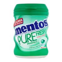 """Жевательная резинка """"Mentos Spearmint"""" без сахара, 30 шт"""