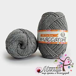 Пряжа Макраме батик PP Tie Dye Maccaroni, 14005, серебро