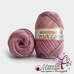 Пряжа Макраме батик PP Tie Dye Maccaroni, 14050, пудра