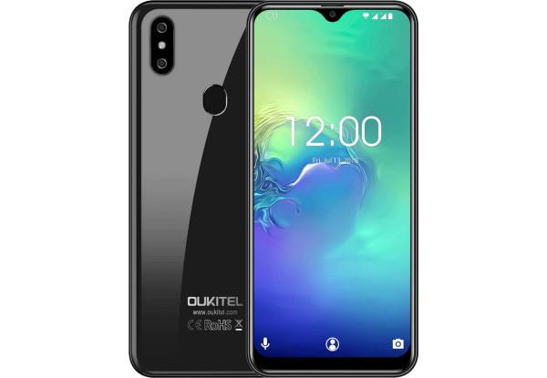 Смартфон Oukitel C15 Pro 2/16gb Black Mediatek MT6761 Helio A22 3200 мАч