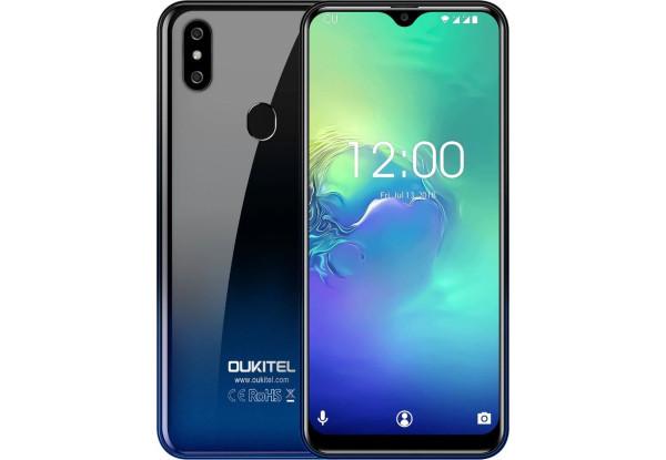 Смартфон Oukitel C15 Pro 2/16gb Twilight Mediatek MT6761 Helio A22 3200 мАч
