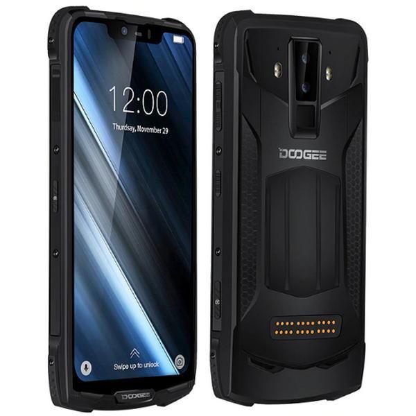"Защищенный смартфон Doogee s90 6/128gb Black + Power модуль IP69K Helio P60 5050 мАч 6,18"" 8/16+8Мп 4G"