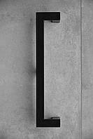 Дверная ручка современного дизайна Черная скоба