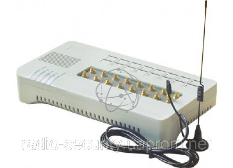 VoIP GSM шлюз Hybertone Goip-16