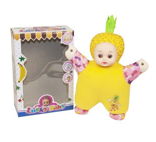 """Кукла мягкая, музыкальная """"Lucky Baby""""  sco"""