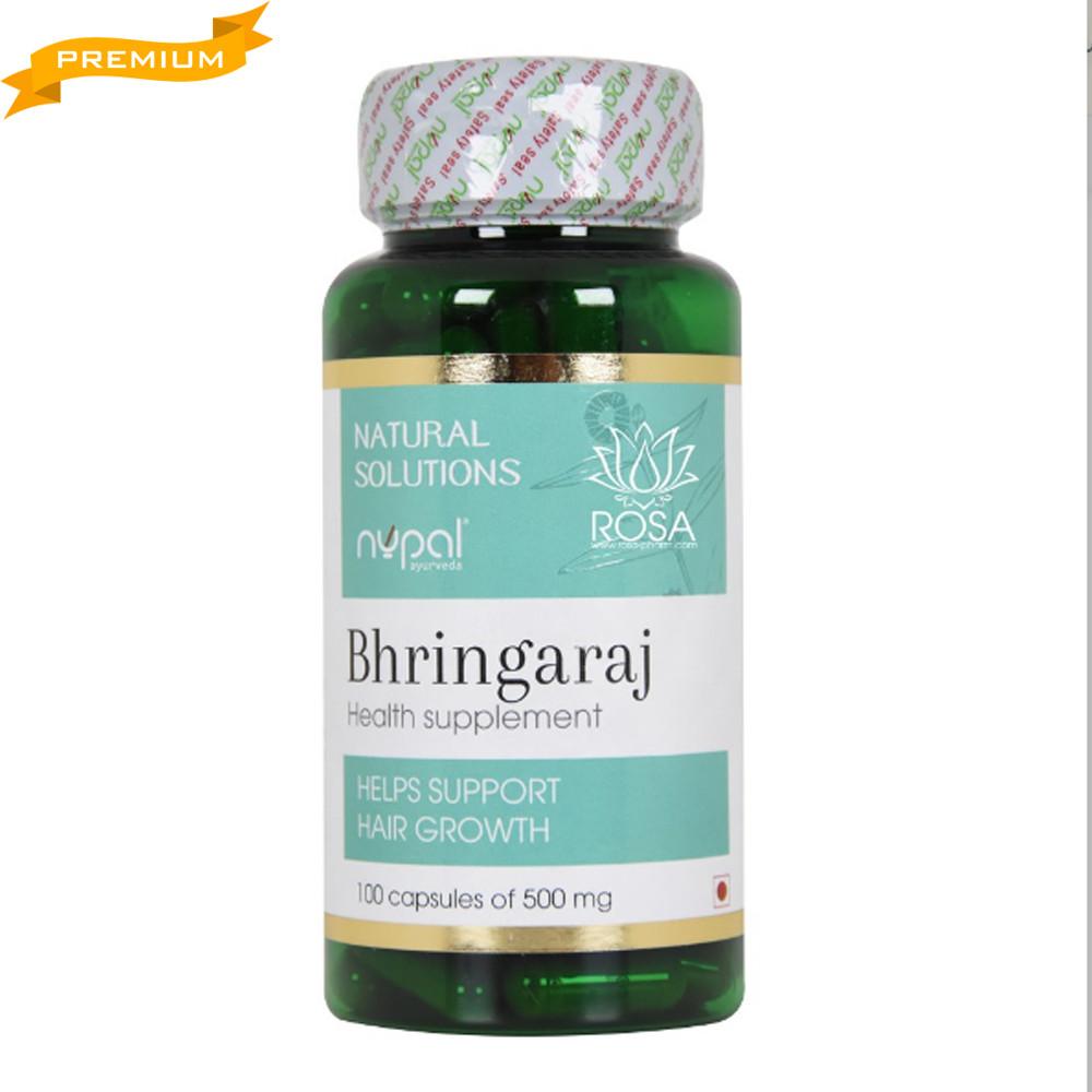Брингарадж (Bhringaraj Capsules, Nupal Remedies), 100 штук