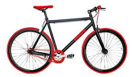 """Шоссейный велосипед Crosser Fix Gear 28"""" Черно-красный"""