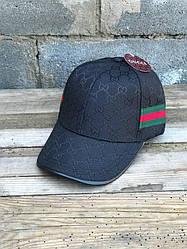 Бейсболка кепка Гуччи Мужская/женская черная (реплика) Сap Gucci Black