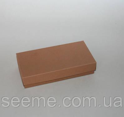 Коробка подарункова, 140х70х30 мм, колір крафт