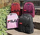 Женский рюкзак красного цвета, полиэстер+люрекс+напыление+эко-кожа, под бренд, фото 2