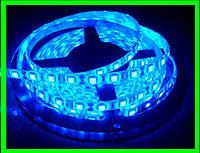 LED Ленты (5050) Blue длинна 5 метров (ВидеоОбзор)