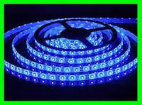 LED Ленты (3528) Blue длинна 5м (ВидеоОбзор)