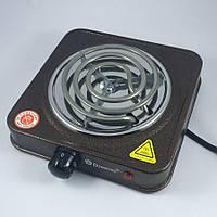 Электроплита настольная Domotec MS 5801 Коричневая