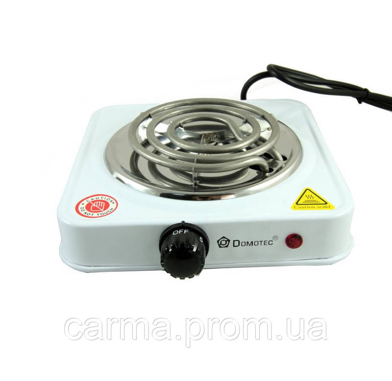 Электроплита настольная Domotec MS 5801 Белая