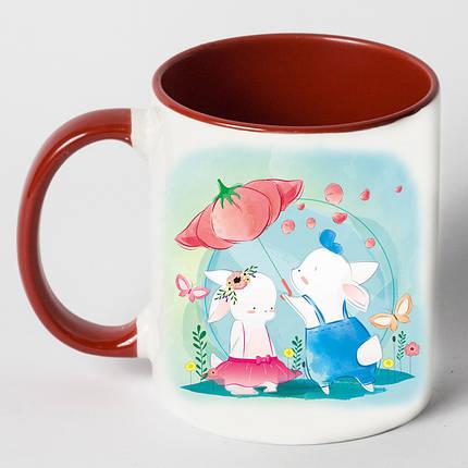 """Чашка """"Зайцы под зантом"""", фото 2"""