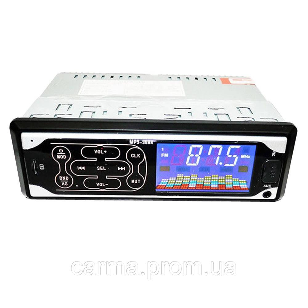 Сенсорная автомагнитола SVN MP3 3884 ISO 1DIN