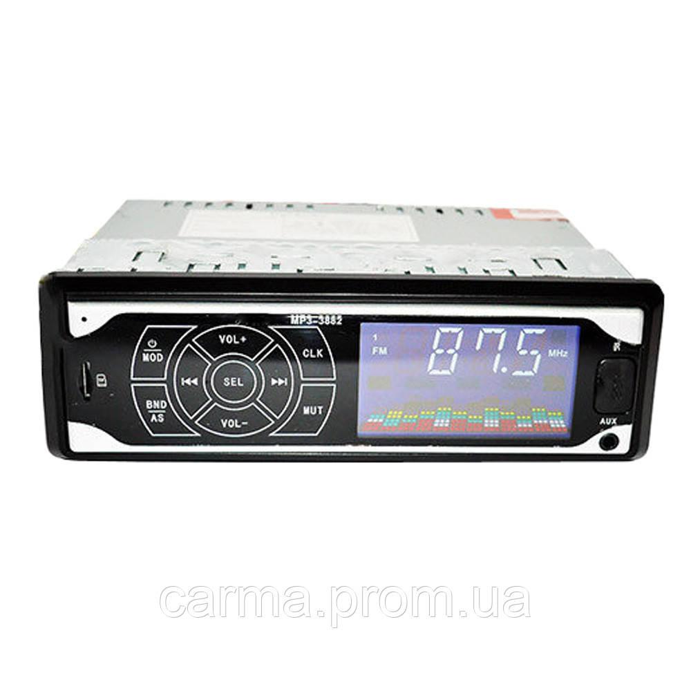 Сенсорная автомагнитола SVN MP3 3882 ISO 1DIN
