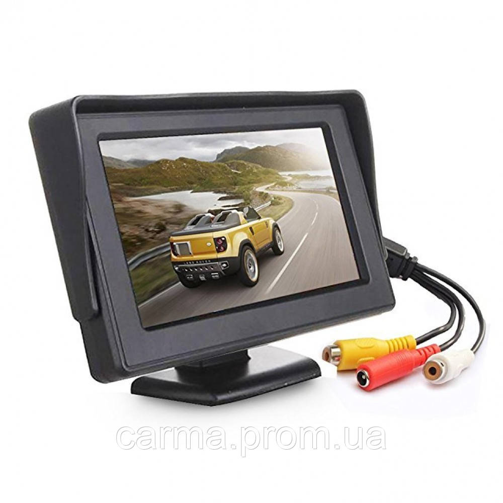 Монитор автомобильный UKC LCD 4.3 Для двух камер