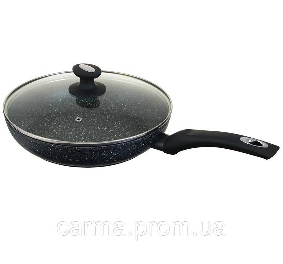 Сковорода с мраморным покрытием Edenberg EB-4107 20 см с крышкой