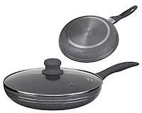 Сковорода с мраморным покрытием Edenberg EB-783 18 см с крышкой