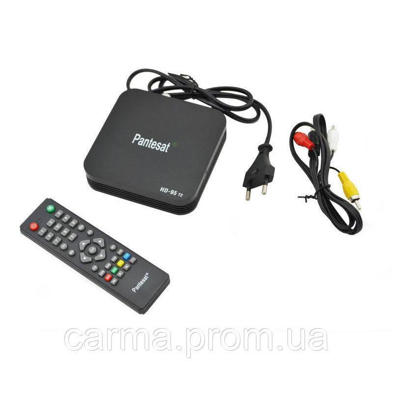 Цифровой эфирный ресивер Pantesat DVB-T2 HD-95, тюнер T2