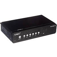 Цифровой эфирный ресивер тюнер UKC DVB-T2 2558, фото 1