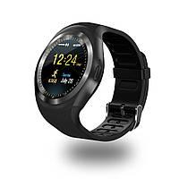 Смарт-часы умные со слотом под SIM карту Smart Watch Y1S Черные, фото 1
