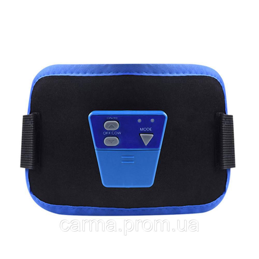 Массажер миостимулятор пояс для похудения AbGymnic
