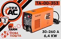 Сварочный аппарат инвертор Tex.AC ТА-00-353 Сварка
