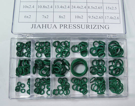 Набор уплотнительных колец HNBR для автокондиционеров 270 шт, фото 2