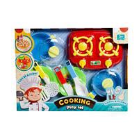 """Кухня с плитой """"Cooking"""" (красная) 9027 scs"""