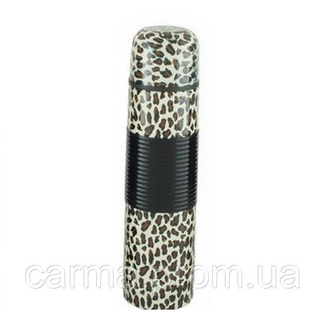 Термос UNIQUE UN-1011 0.35 л Леопард коричневый